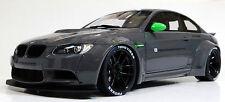 GT SPIRIT 1/18 BMW E92 M3 LB Performance Liberty Walk GRAY GT127 RESIN REPLICA