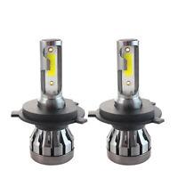 Pair H4 200W Car CREE CSP LED Headlight Kit Canbus Lamp 50000LM 6000K Bulbs