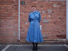 Damen Regenmantel 40er Mantel 40´s raincoat 50er True VINTAGE 50´s Gummimantel