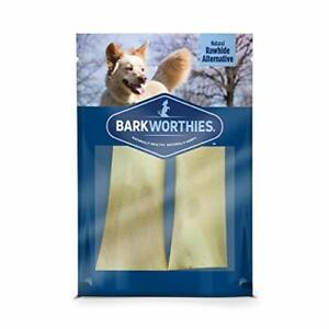 Barkworthies Peanut Butter Stuffed Beef Shin Bone   2 Pack   Tough and Durable