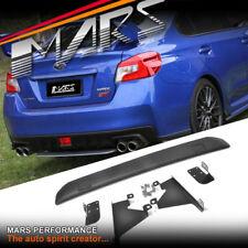 STI Style Rear Bumper bar Diffuser lip Spoiler for SUBARU WRX & STi 14-17