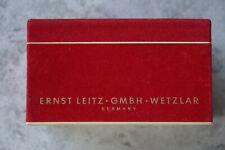 Rote Verpackung Box only für Leica M3 aus 1957.