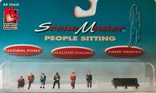Ho Walthers Life-like People Sitting 1607 Nip Scene Master