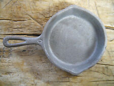 Cast Iron GRISWOLD No.0 TOY SKILLET Antigue VINTAGE Style Frying Pan Western