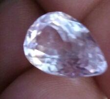 Kunzite Gemstone 6.70Cts pear  cut vvs Eye clean nice  Baby Pink  AFGHANISTAN
