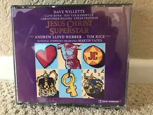 Jesus Christ Superstar [1994 London Studio Cast] (CD, Apr-1996, 2 Discs