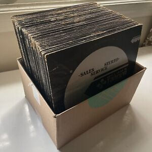 Rare William B. Tanner Key Series Vinyl Records Huge 55 LP Lot Radio Jingles