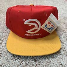 NEW Vintage Atlanta Hawks Snapback Hat