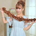 Women's Clip In Ponytail Wavy Horsetail Long Hairpieces Curly Hair Extension