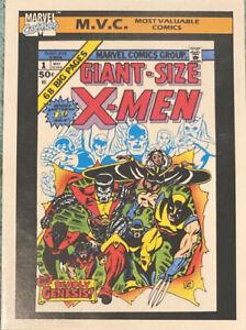 1990 Impel Marvel Series 1 Giant-Size X-Men MVC #132 NM
