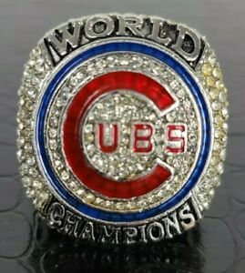 2016 Chicago Cubs World Series REPLICA Ring Rizzo *SHIPS FROM USA*