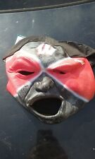 Ncaa Wisconsin Badgers Fan Face Mask with Hat Franklin Halloween Nwt