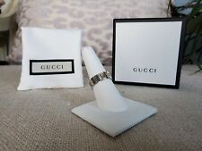 NWB Authentic Silver Gucci Ghost Ring Size 12 Ret. $260