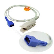 Adult Finger Clip Spo2 Sensor Compatible With Nellcor DS-100A 7 Pins 3Feet / 1M