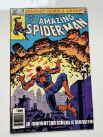 The Amazing Spiderman #218 Sandman Hydroman Vintage Marvel Comics
