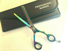 "6"" Japanese Stainless-Steel Professional Hair Thinning Shear Scissor With Case"