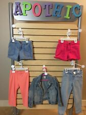 Lot of 8 Girls Spring/Summer Shorts, Pants, Jacket, Sleepwear - Sz 5T, 5, 5-6