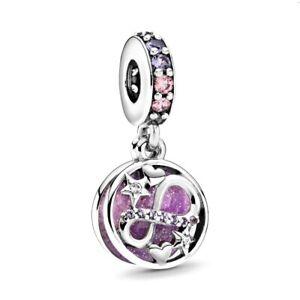 NEW Authentic Original PANDORA 925 Sterling Silver Infinity LOVE Bead charm