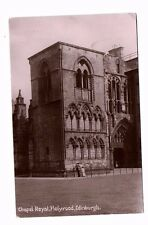 Scotland - Edinburgh, Holyrood, Chapel Royal - Postcard franked 1910