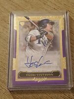 2020 Topps Five Star Yoshi Tsutsugo RC Auto #47/50 Purple Tampa Bay Rays Rookie