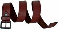 Cintura Uomo Marrone Bikkembergs Belt Men Leather Embossed DB H.4 D1813 Cognac M