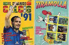 ALBUM FIGURINE VALLARDI ANNO 1991 - ALBUM VUOTO BLISTERATO + SET.Q.COMPLETO