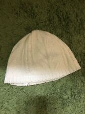 The Children's Place 6-12 months crochet lined ivory beanie hat toboggan winter
