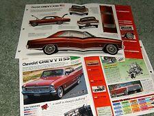 1966-67 CHEVY II NOVA SS SPEC INFO POSTER BROCHURE AD