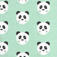 Menthe ou rose Panda Amour - Tissu coton - aussi Jersey mètre / PAQUET / FQ