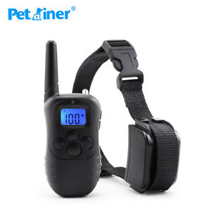 Pet training Rainproof Vibration Shock Dog Collar de entrenamiento para perros