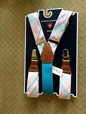 Saddlebred Graphic Clip Closure Suspenders BRAND NEW!!! 9-2