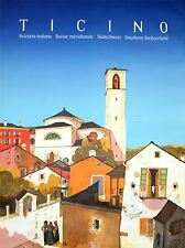 ART PRINT POSTER TRAVEL TICINO SOUTHERN SWITZERLAND SUISSE NOFL1154