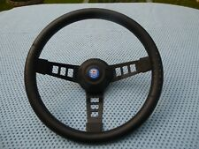 BMC CLASSIC AUSTIN MORRIS  MINI 1970's AFTERMARKET VGC STEERING WHEEL BOSS & CAP