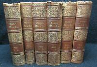 Six Antique Books Goethe's Werke 1882 Goethe's Works Volumes 1-12