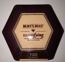 Burt's Bees Mattifying Powder Foundation in 1120 * BAMBOO * Brand New & Sealed