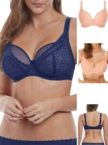 Freya Love Note Bra High Apex 5211 Underwired Non Padded Lace Lingerie
