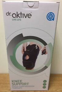 Dr Aktive KNEE SUPPORT Cold Compression Therapy - Knee,Sport,Fitness,Rehab NEW