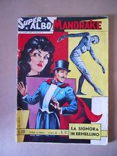 SUPER ALBO MANDRAKE n°82 1964 ed. Spada  [G433] Discreto