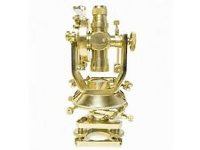 Antique Nautical Brass Theodolite Maritime Memorabilia Survey Transit Alidade