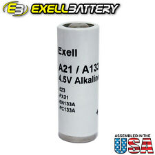 Exell Alkaline Battery A21PX Replaces 523 EN133A PC133A PX21 1306AP