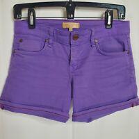 Women's Sanctuary Denim Purple Jean Shorts Size 25 Great Condition