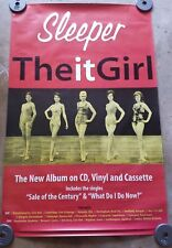 SLEEPER The It Girl Subway POSTER Rare Promo 1996 UK Tour Dates 60x40