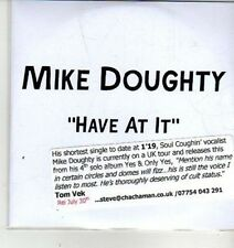 (CW613) Mike Doughty, Have At It - DJ CD