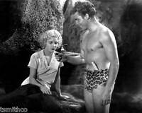 Buster Crabbe with Julie Bishop 8x10 Photo 010