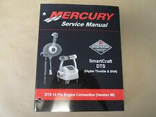 Mercury Smartcraft Digital Thrittlo & Shift 14 Pines Manual Versión 06 Oem Bote