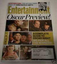2007 Oscars Preview ENTERTAINMENT WEEKLY MAGAZINE Queen DEPARTED Academy Awards