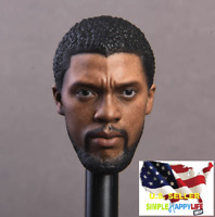 1/6 Black Panther head sculpt for NR15 Hot toys Phicen Ganghood ❶USA IN STOCK❶