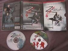 Zatoichi de Takeshi Kitano avec Tadanobu Asano, collector 2DVD, Kung-Fu