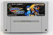 Rockman & Forte Mega Man Bass SFC Nintendo Super Famicom SNES Japan Import I7712