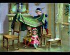 Grande IMAGE CHROMO / JEU d'ENFANT / CABANE à DOMICILE
